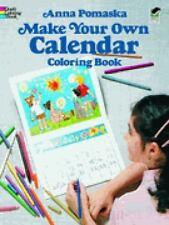 Make Your Own Calendar Coloring Book (Dover Children's Activity Books)