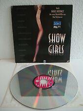 Showgirls   Laserdisc PAL Deutsch   LD: Fast wie Neu   Cover: Gut-SGT
