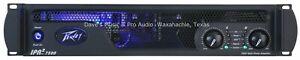PEAVEY IPR2-7500 4750 watts 2 Channels Class-D Power Amplifier FREE US SHIPPING*