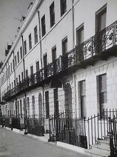 VINTAGE Photograph WEYMOUTH Dorset Street Scene Houses 1960s Large Photo
