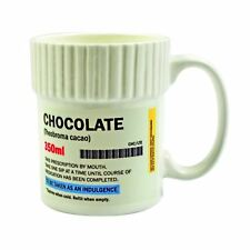 Gift Republic Chocolate Pill Pot Mug Tea Coffee Cup Gift Box Novelty Gift Idea