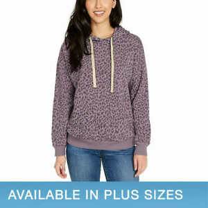 Buffalo Ladies' Super Soft Hoodie - PURPLE (Select Size: XS-XXL) FAST SHIPPING