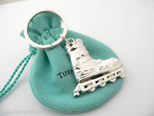 Tiffany & Co Silver Roller Blade Skate Key Ring Key Chain Great Condition Pouch