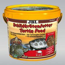 2 Stück JBL Schildkrötenfutter, 2 x 2,5 l, Hauptfutter für Wasserschildkröten