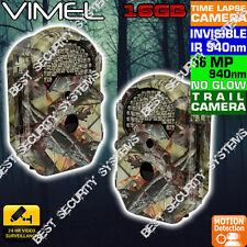 Hunting Camera Security Game 16GB Vimel Black Flash Farm Smart Guard Time Lapse