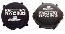 New Honda CR 500 87-01 Trick Boyesen Clutch & Ignition Cover Black Motocross