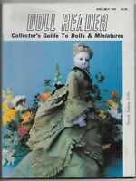 April May 1981 Doll Reader Magazine-Collector's Guide Dolls & Miniatures!
