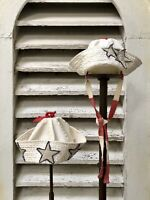 Vintage American Flag Stars Sailor Hat Child's