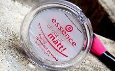 Essence todo sobre Matt fijación Compacto Transparente polvo presionado Control de Aceite 8g