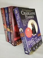 Charlaine Harris Dead series Sookie Stackhouse Paperback Book - Collection Of 4