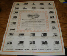 Original 1900s Armleder Wagon Foldout Sales Brochure