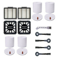 Brush Filters Set Replacement for Shark IQ R101AE IQ R101(RV1001) Vacuum Cleaner