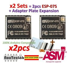 2pcs ESP-07S (ESP-07 Updated) ESP8266 serial WiFi model Authenticity Guaranteed