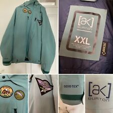 Burton AK Mens 3L Gore-Tex Stretch Hover Jacket Size XXL TRELLIS COLOR