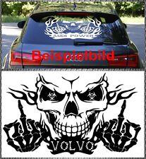 Skull Volvo Power Aufkleber Sticker Totenkopf Heckscheiben 58x34cm V60 V40 XC60
