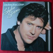 Shakin Stevens, the bop won't stop,  LP - 33 tours