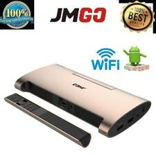 JMGO M6 Portable 4k 1080P Android 7.0 DLP Projector WIFI Bluetooth HD USB J2F5