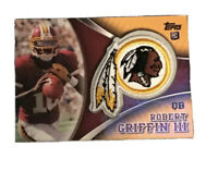 Robert Griffin III, 2012 Topps Factory Set Patch #TLPRG, Rookie Redskins