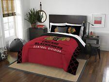 NHL Full/Queen Size Bedding Set (Comforter & 2 Pillow Shams)