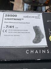 Arbortec Lightning Class 2 Chainsaw Boot - Black - Size 7 41 eur