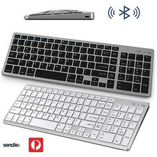 Bluetooth Wireless Rechargeable Slim Keyboard for Mac, iPad ,Phone, Windows 102⌨