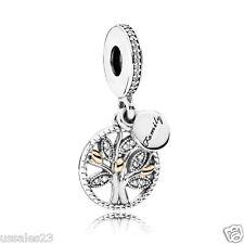Pandora Family Heritage Tree Charm, Bracelet Bead, Brand New, #791728CZ