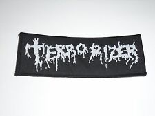 TERRORIZER GRINDCORE WOVEN PATCH