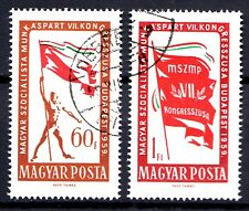 Hungary - 1959 Party congress Mi. 1640-41 VFU