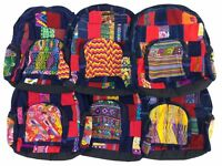 Artisan Crafted Ethnic Hippie Boho Gypsy Mayan Backpack Handmade in Guatemala