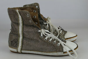 Replay Gr.41 Damen Stiefel Stiefeletten Boots Hightop Sneaker   Nr. 509 D