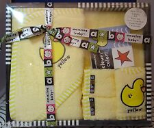 New Amazing Baby Yellow Duck Bath Gift Set