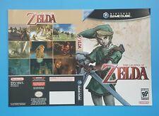 The Legend of Zelda Promotional Retailer Cover Art Nintendo Gamecube 2005