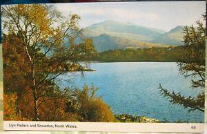 Wales Llyn Padarn and Snowdon North Wales - posted 1977