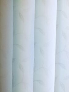 89mm Vertical Blind Replacement Louvre/Slats - Iris White