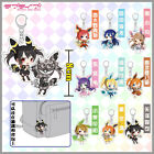 Unique! Pokemon x LoveLive! Love Live School Idol Project Cute Acrylic Keychain
