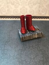 Blythe Doll Boots - Handmade Red Glitter - Long Length Boots For Blythe Doll