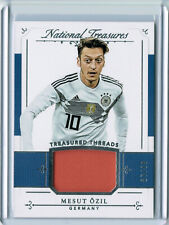 MESUT OZIL 2018 PANINI NATIONAL TREASURES THREADS JERSEY #87/99