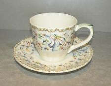 NEW  US Tea Cup & Saucer Toscana Pattern From GIEN