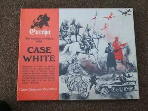 CASE WHITE The Invasion of Poland 1939 Europa Game VII - GDW - Incomplete