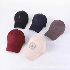 UK Stone Island Logo Baseball Hat Cap Adjustable Cap Hat Unisex Golf cap