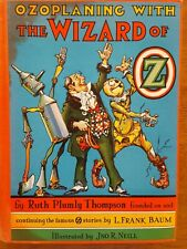 OZOPLANING WITH THE WIZARD OF OZ by Ruth Plumly Thompson first edition 1939