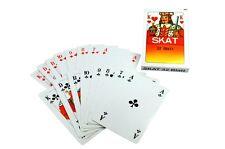 12 x Skatkarten / 32 Blatt Skat Karten Spielkarten - Französisches Blatt