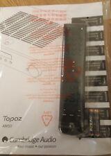 Remote control for Cambridge audio Topaz AM10 whit Manuel