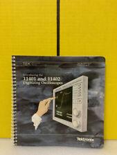 Tektronix 070 6103 01 11401 Amp 11402 Digitizing Oscilloscopes Instruction Manual