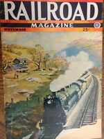 Railroad Magazine November 1943 Issue