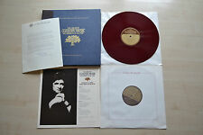 Johnny Cash , Franklin Mint Box ,2 Red Vinyls , Boolket , USA 1981 , RARE
