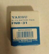 4.8v 600 mAh NiCd BATTERY YAESU MODEL FNB-31 OEM Genuine