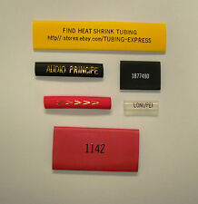 Hot Stamping Service On Any Heat Shrink Tubing Sample Pack