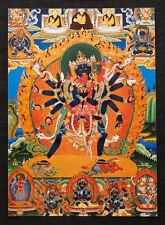 CARTE POSTALE Chakrasamvara SAMBARA NEPAL TIBET DEITE BOUDDHISTE BOUDDHA 5279