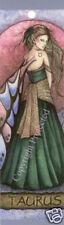 Taurus Bookmark Fairy Zodiac Sign Jessica Galbreth NEW Faery Rare Retired